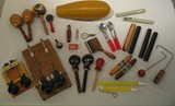 Castanets, Guiros, Maracas, Claves, Sound Effects (various items / call for prices)