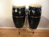 Congas - LP Matador Fiberglass (includes tumba, conga, stand, cases, and wrench)