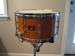 "Snare Drum - Tama 8 x 14"" Birds-Eye Maple (includes case and stand)"
