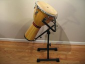 Djembe - LP Siam Oak (includes stand, strap, case, and wrench)